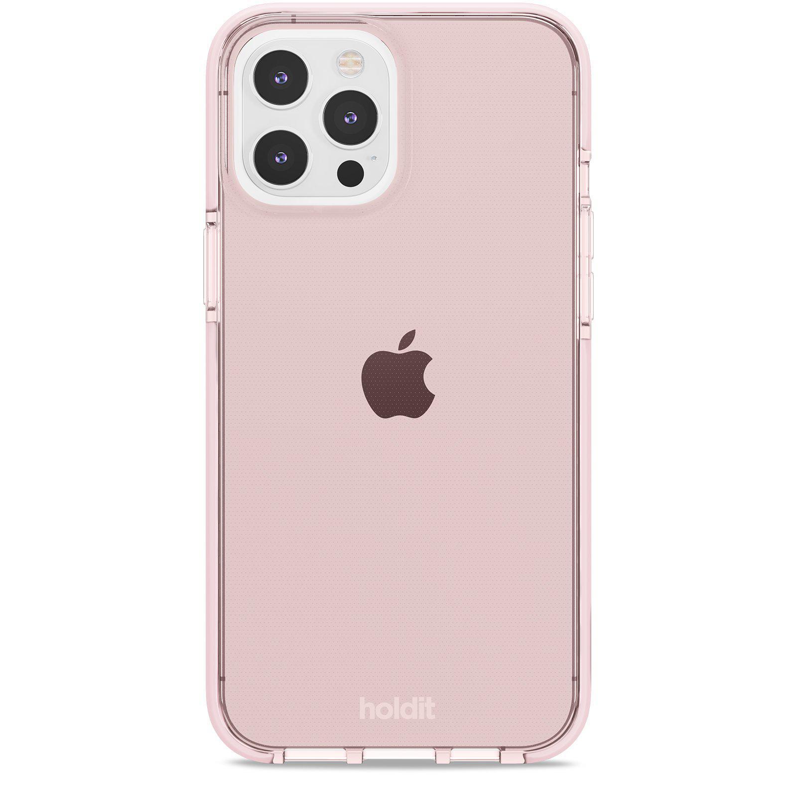 Seethru Skal iPhone 12 Pro Max Blush Pink