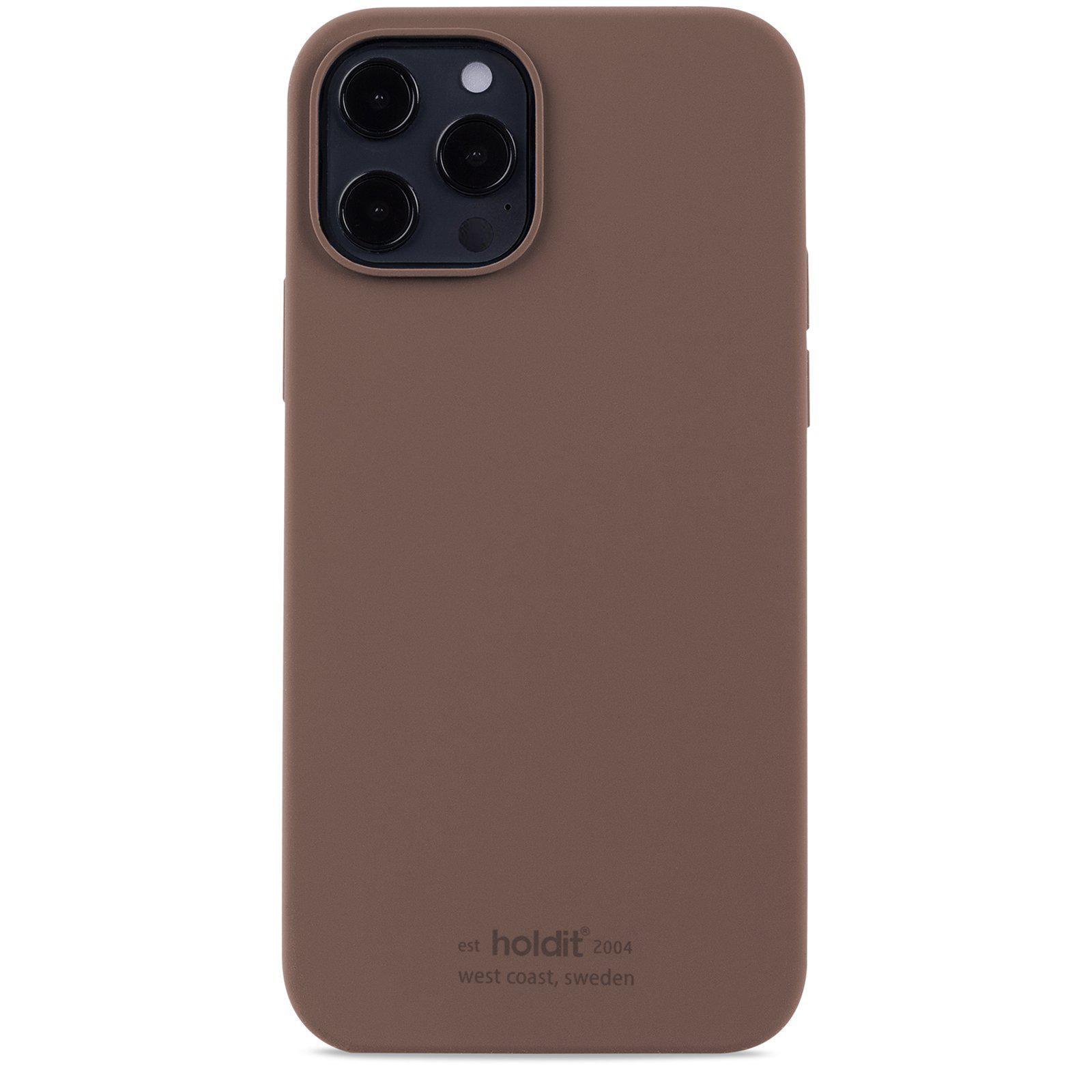 Silikonskal iPhone 12/12 Pro Dark Brown