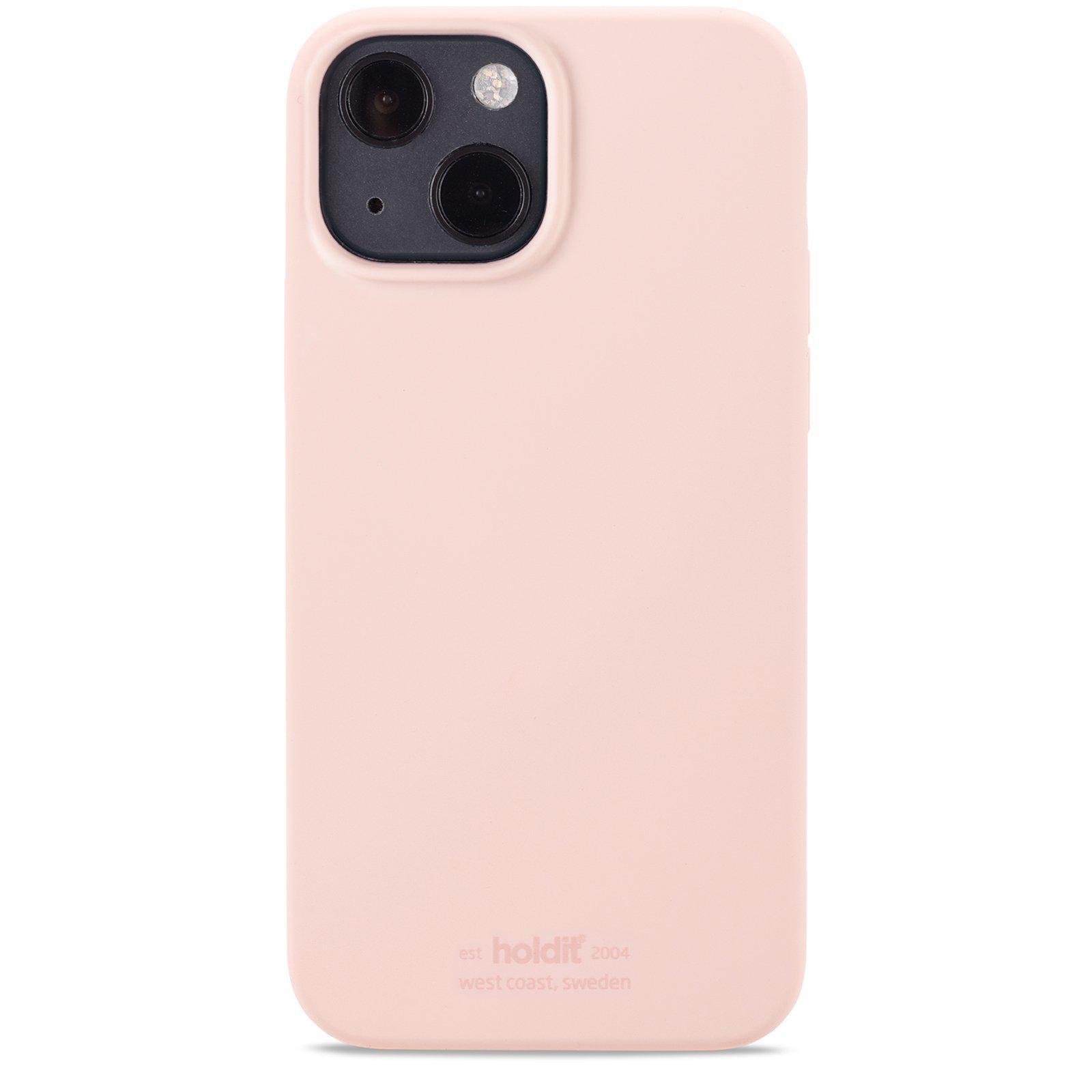 Silikonskal iPhone 13 Mini Blush Pink