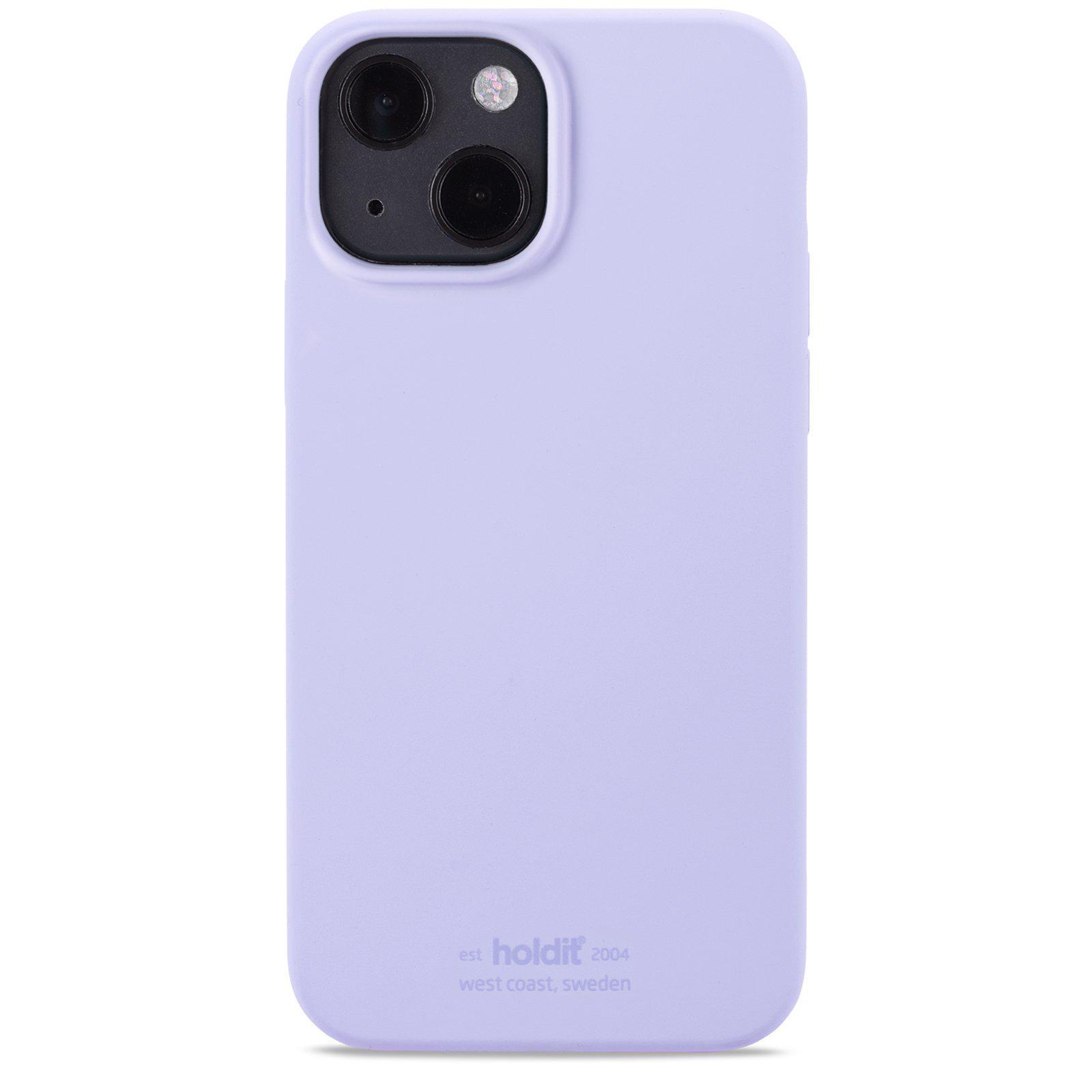 Silikonskal iPhone 13 Lavender