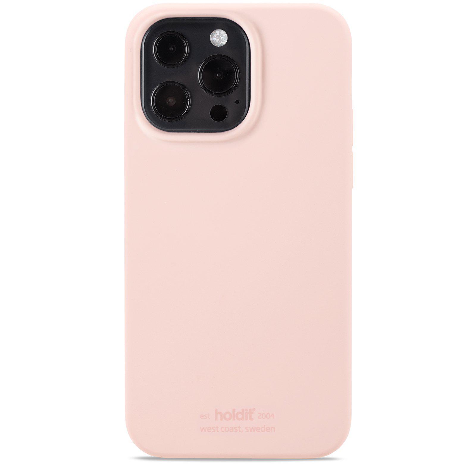 Silikonskal iPhone 13 Pro Max Blush Pink