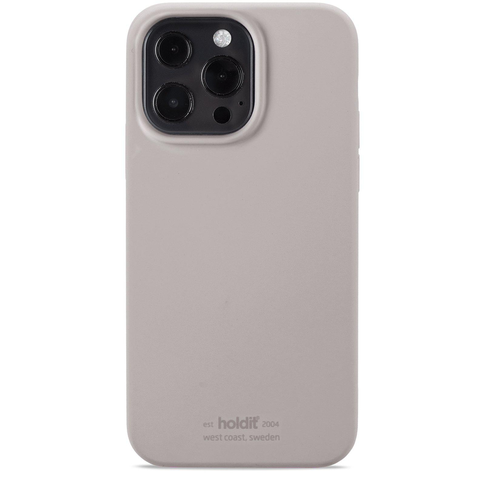 Silikonskal iPhone 13 Pro Taupe