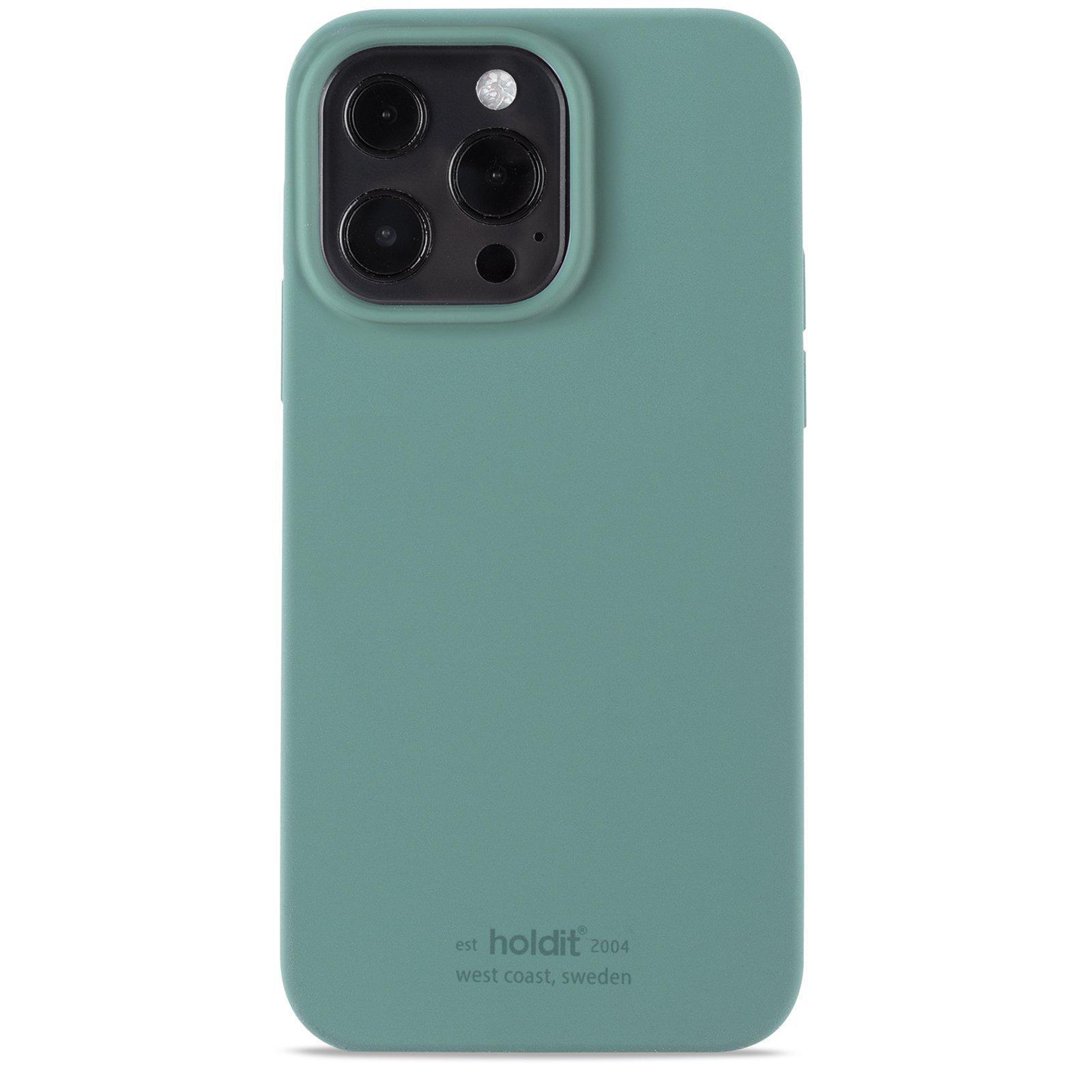 Silikonskal iPhone 13 Pro Moss Green