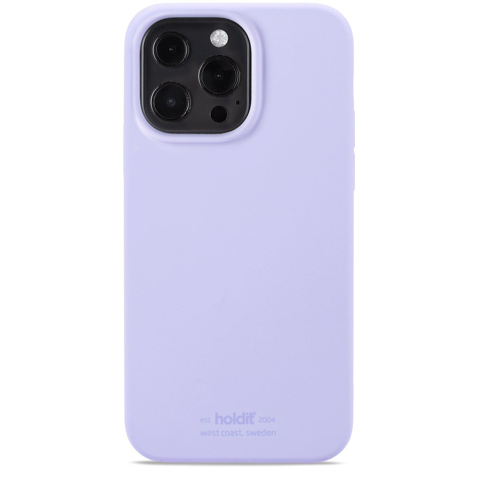 Silikonskal iPhone 13 Pro Lavender