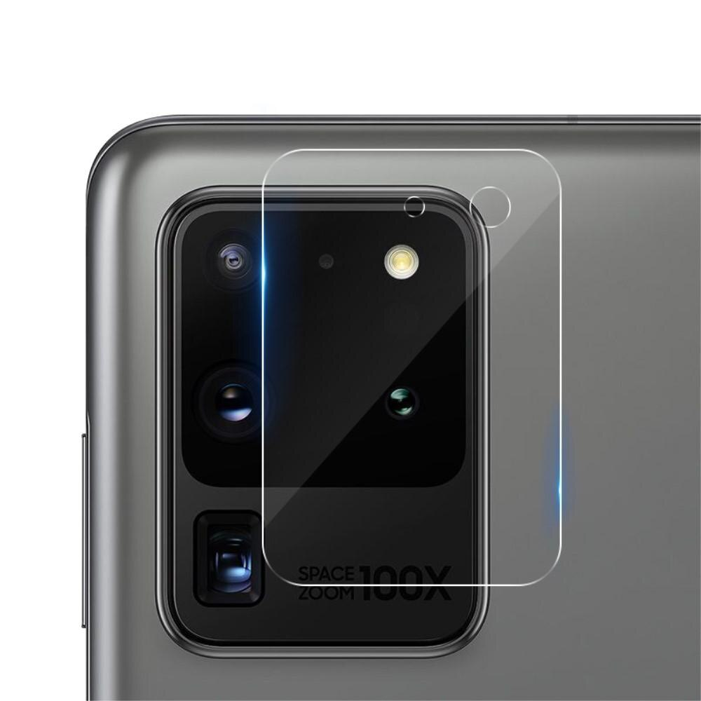 0.22mm InvisiFilm Kameraskydd Galaxy S20 Ultra (2-pack)