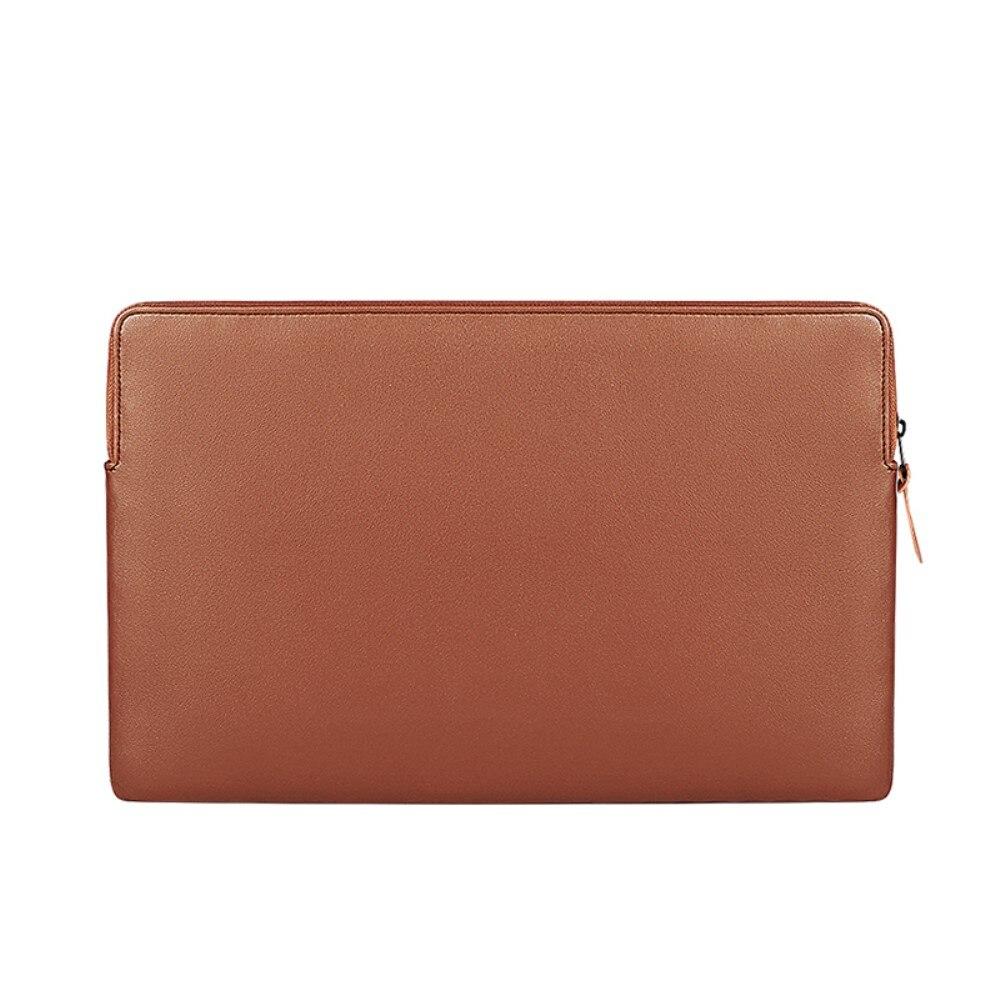"""Laptopfodral Läder till 13,3"""" brun"""