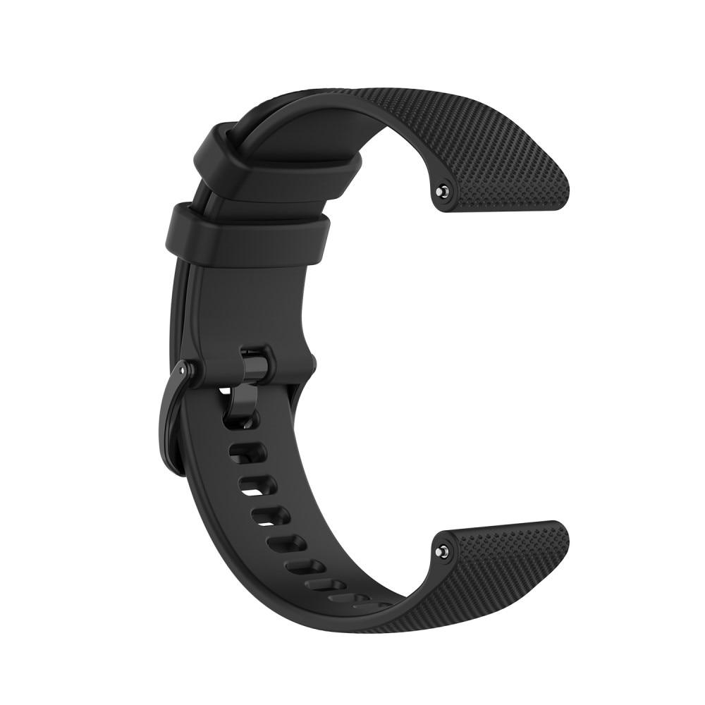 Silikonarmband Garmin Vivoactive 4/Venu 2 svart