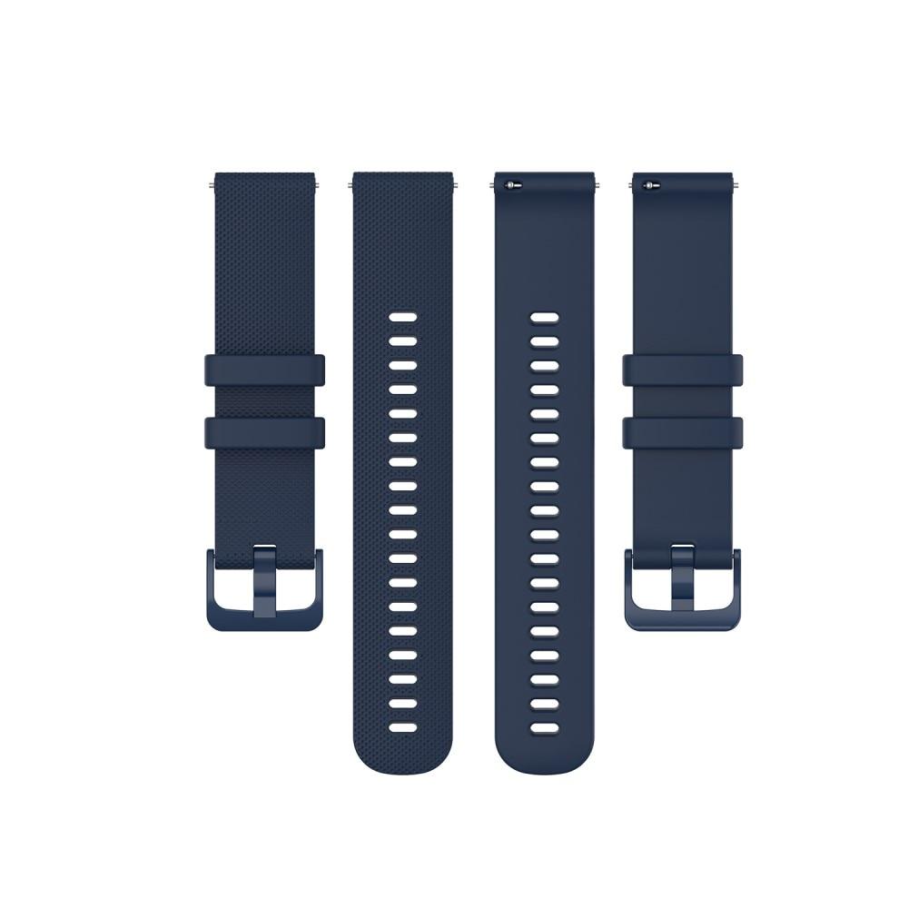 Silikonarmband Garmin Vivoactive 4/Venu 2 blå