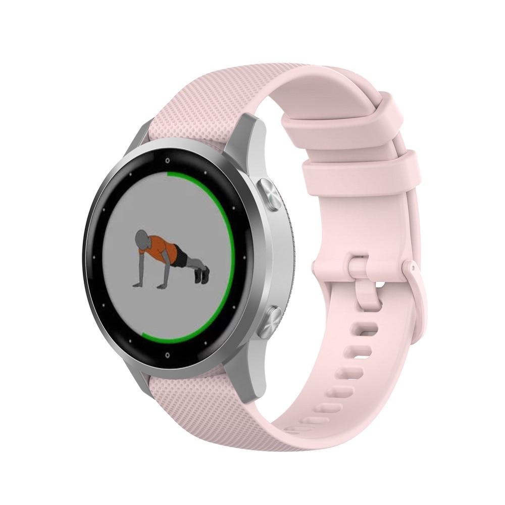 Silikonarmband Garmin Vivoactive 4s/Venu 2s rosa