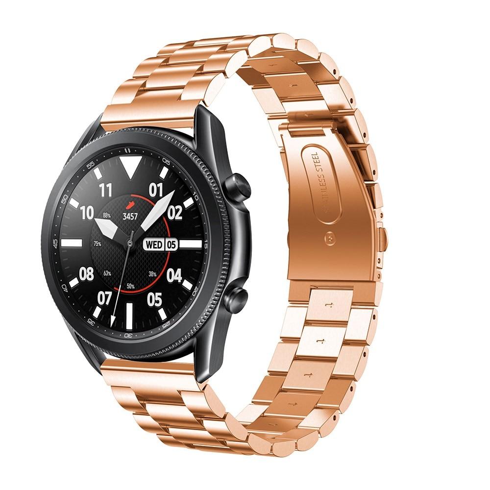 Metallarmband Samsung Galaxy Watch 4 40mm/Classic 42mm roséguld