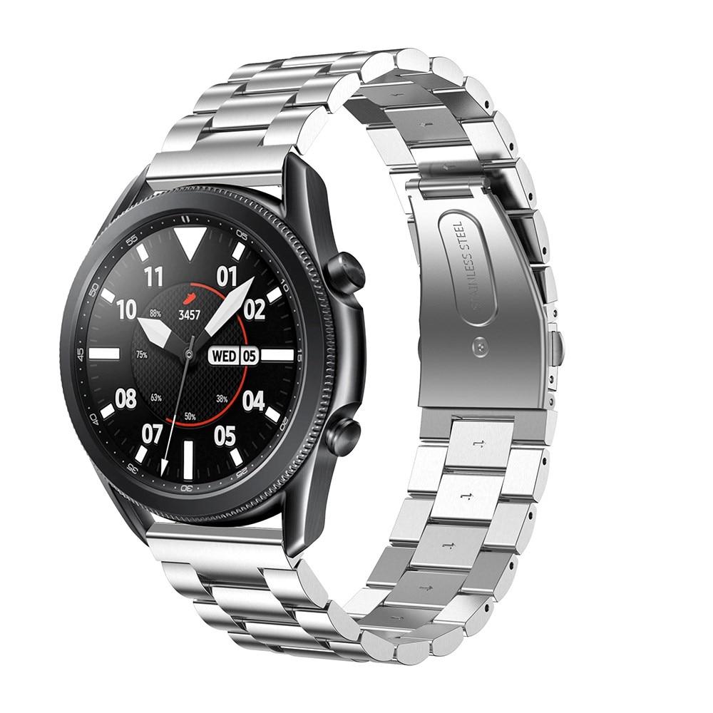 Metallarmband Samsung Galaxy Watch 4 44mm/Classic 46mm silver