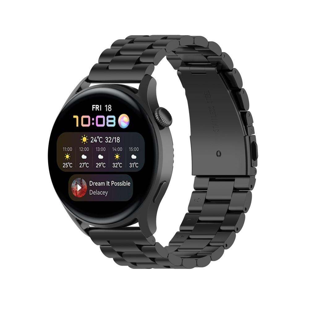 Metallarmband Huawei Watch 3/3 Pro svart