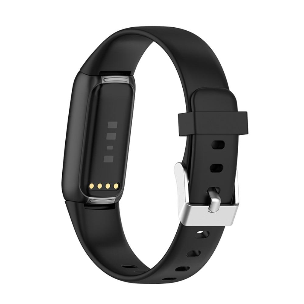 Silikonarmband Fitbit Luxe svart (Small)
