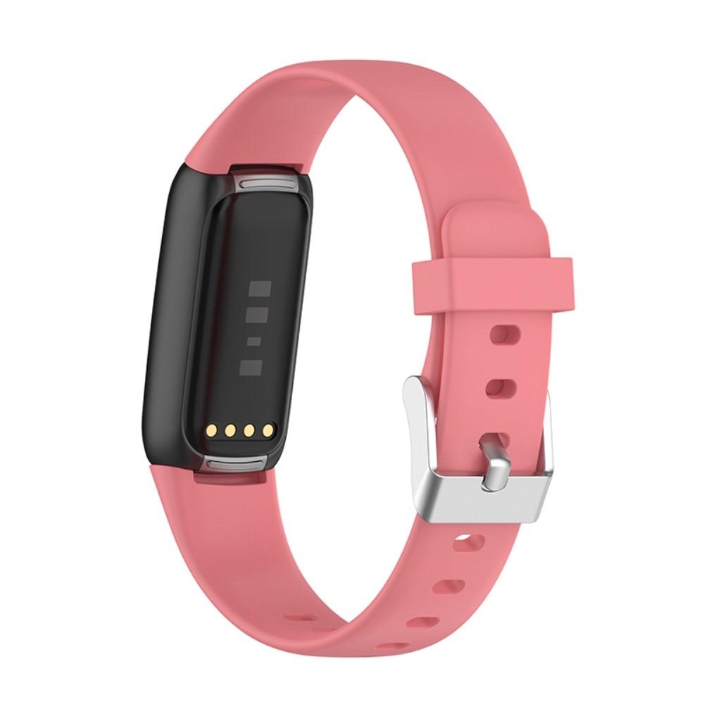 Silikonarmband Fitbit Luxe rosa (Small)