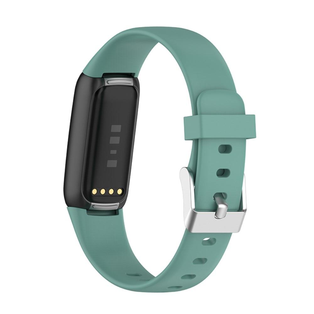 Silikonarmband Fitbit Luxe grön (Small)
