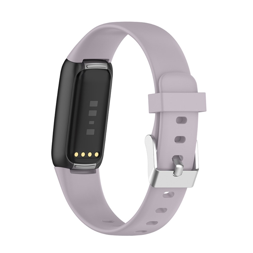 Silikonarmband Fitbit Luxe lila (Small)