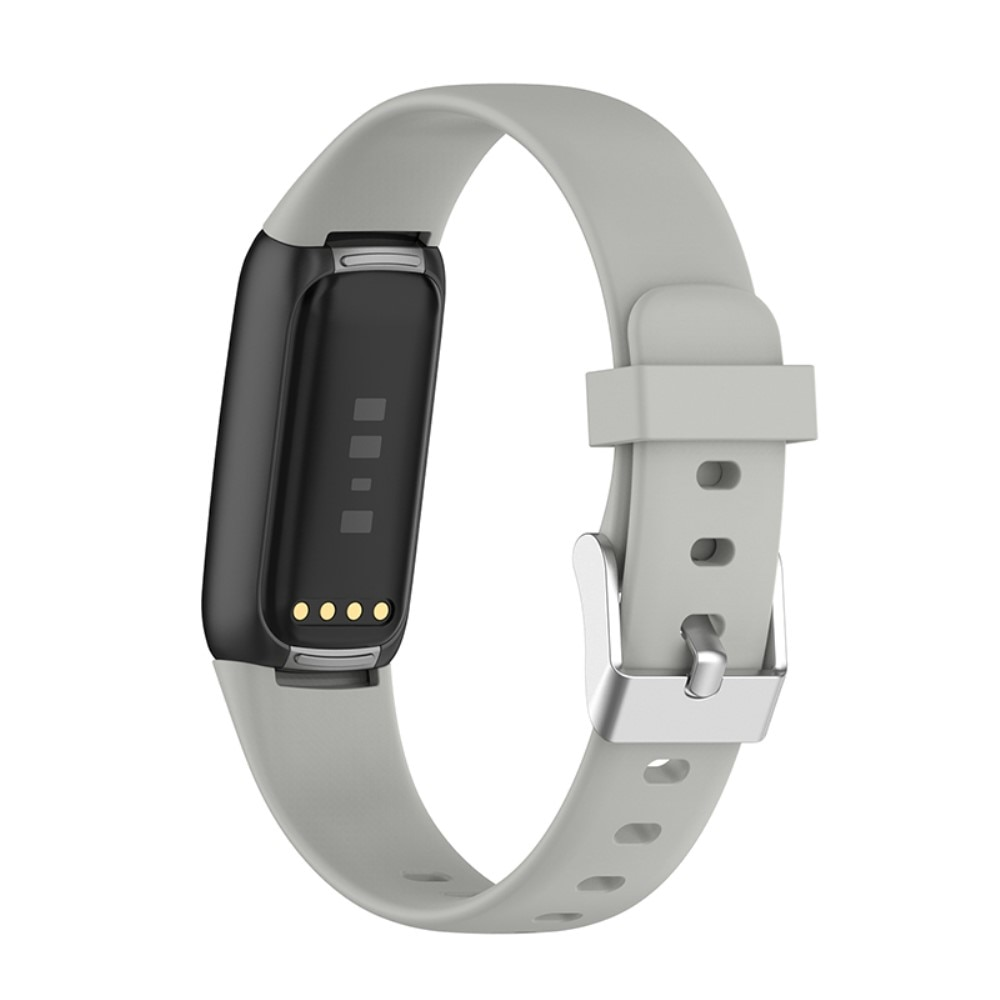 Silikonarmband Fitbit Luxe grå (Small)