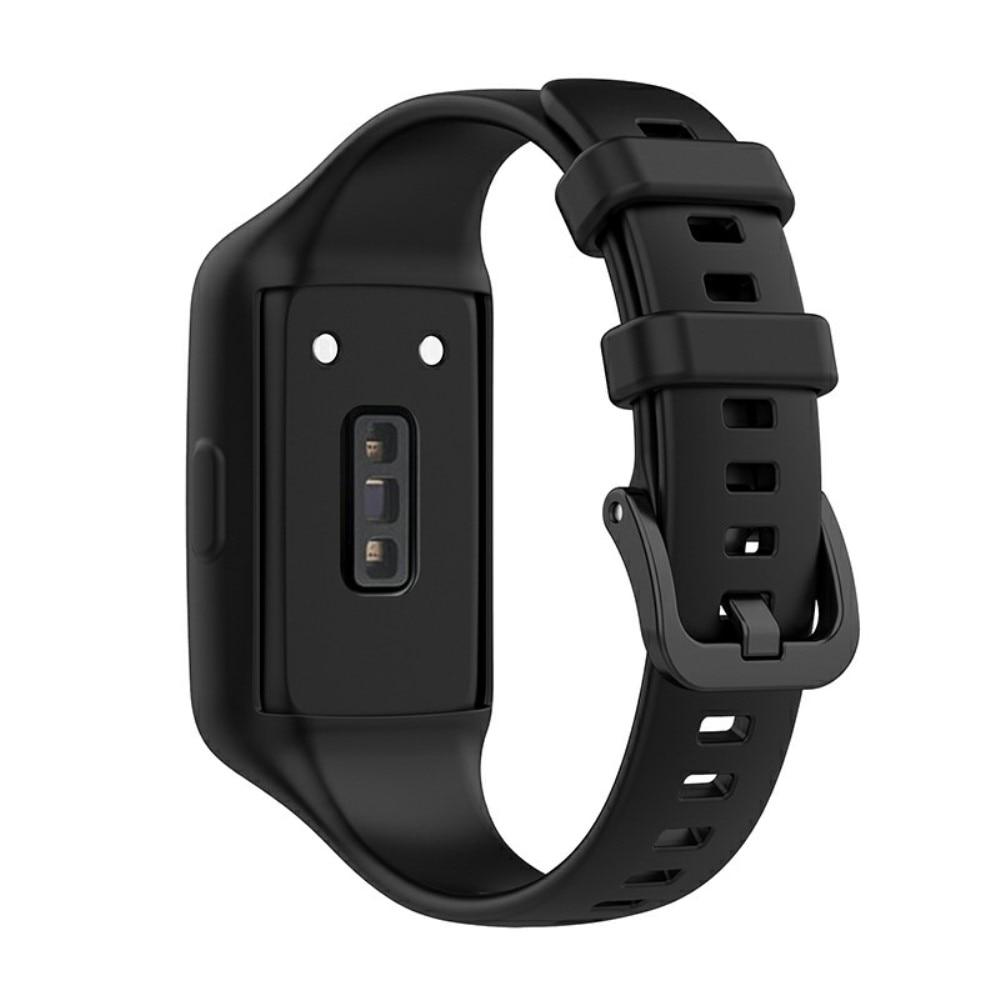 Silikonarmband Huawei Band 6 svart