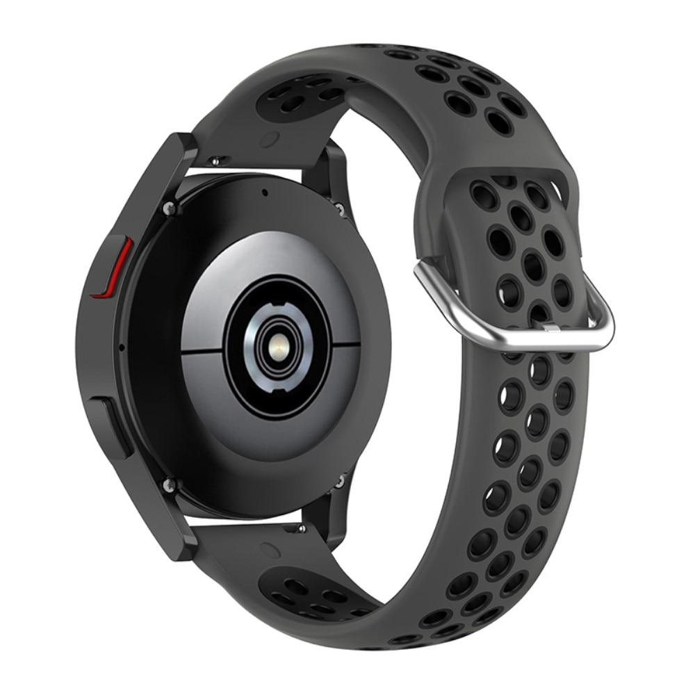Silikonarmband Sport Galaxy Watch 4 40mm/Classic 42mm grå