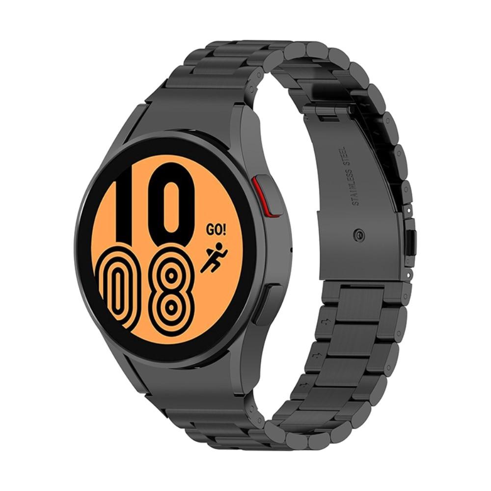 Full Fit Metallarmband Galaxy Watch 4 40/42/44/46 svart