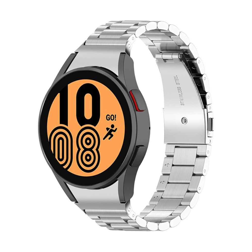 Full Fit Metallarmband Galaxy Watch 4 40/42/44/46 silver