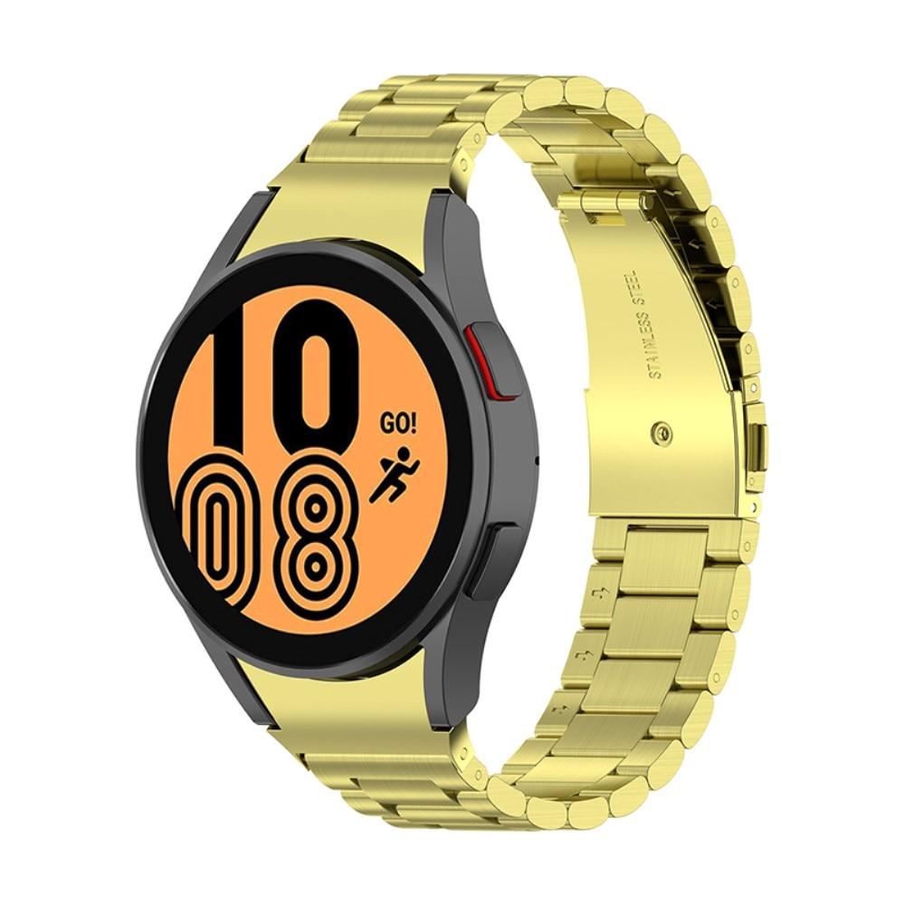 Full Fit Metallarmband Galaxy Watch 4 40/42/44/46 guld