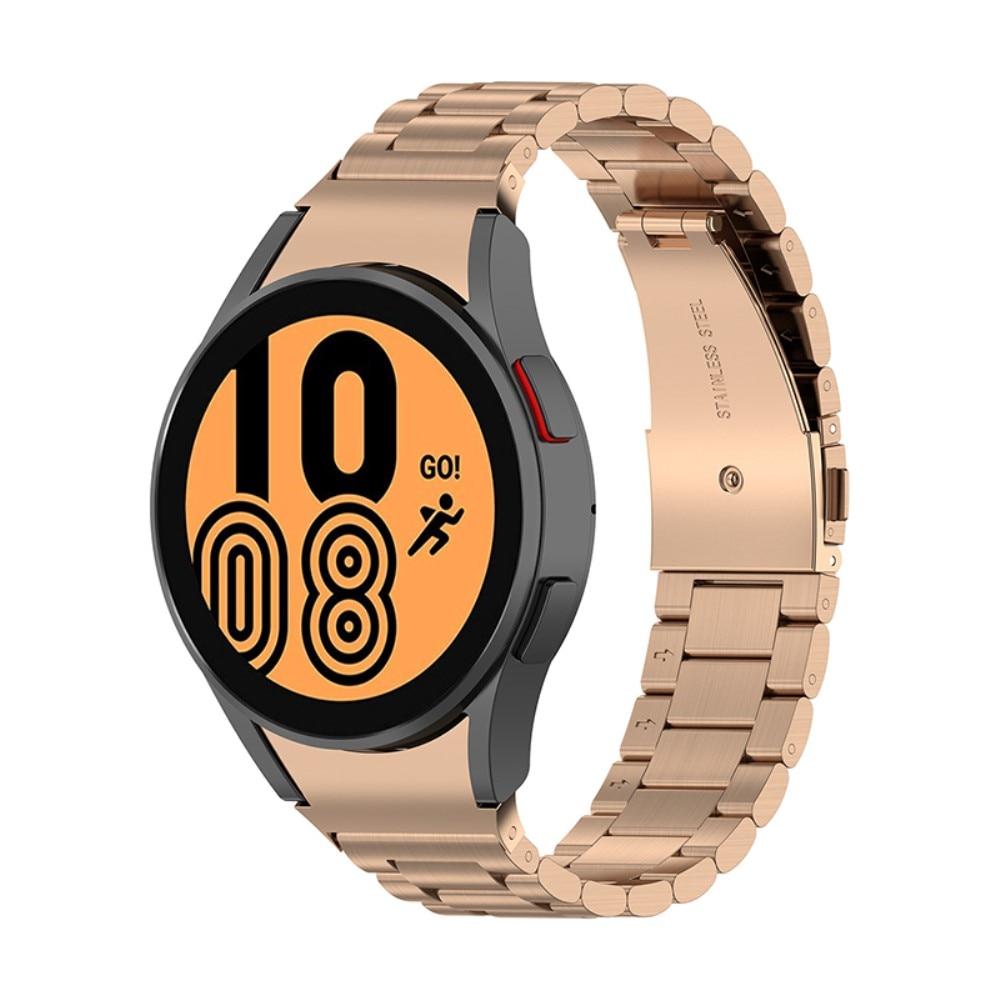 Full Fit Metallarmband Galaxy Watch 4 40/42/44/46 roséguld