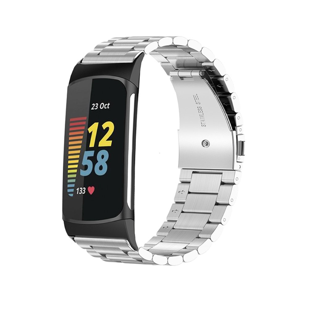 Metallarmband Fitbit Charge 5 silver