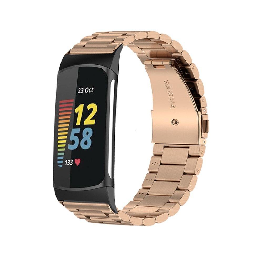 Metallarmband Fitbit Charge 5 roséguld