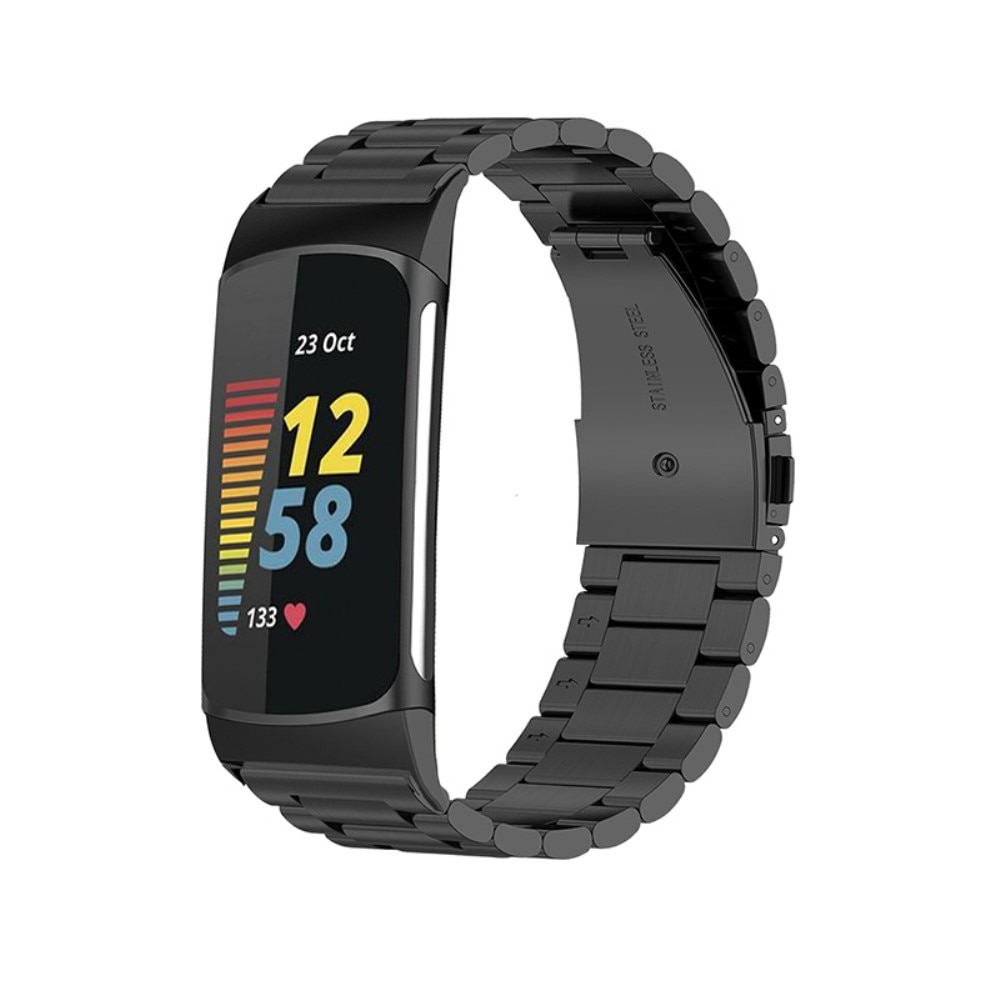 Metallarmband Fitbit Charge 5 svart