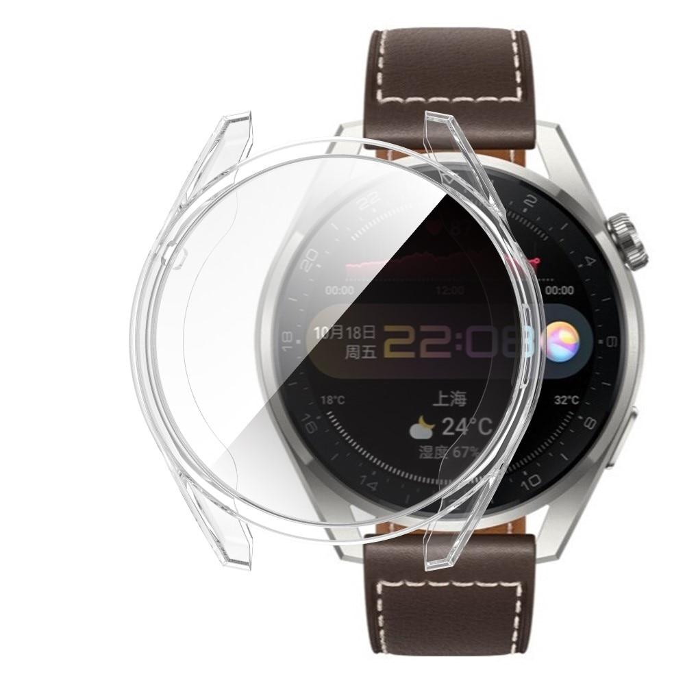 Heltäckande Skal Huawei Watch 3 Pro transparent