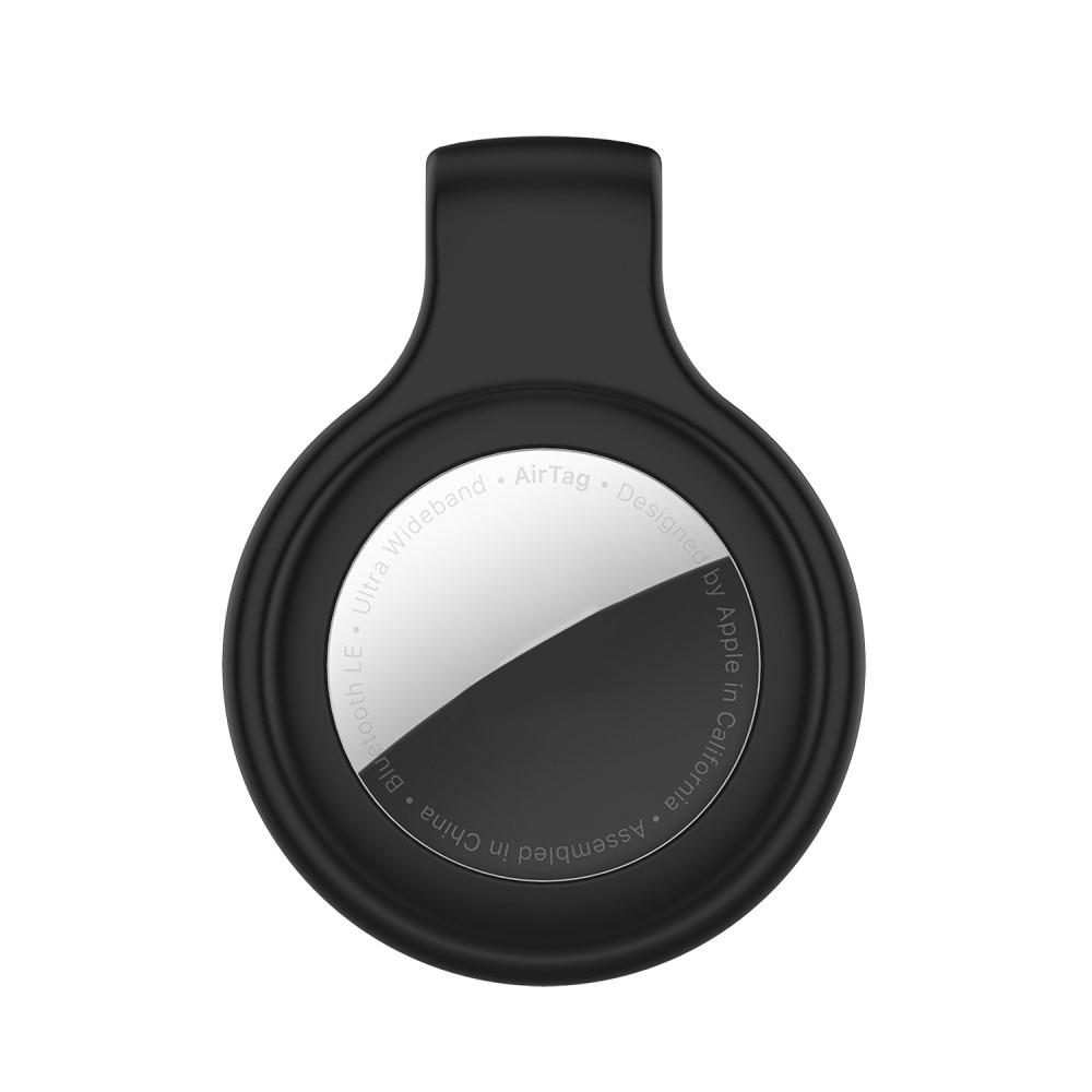 Silikonklämma/Clip Apple AirTag Svart