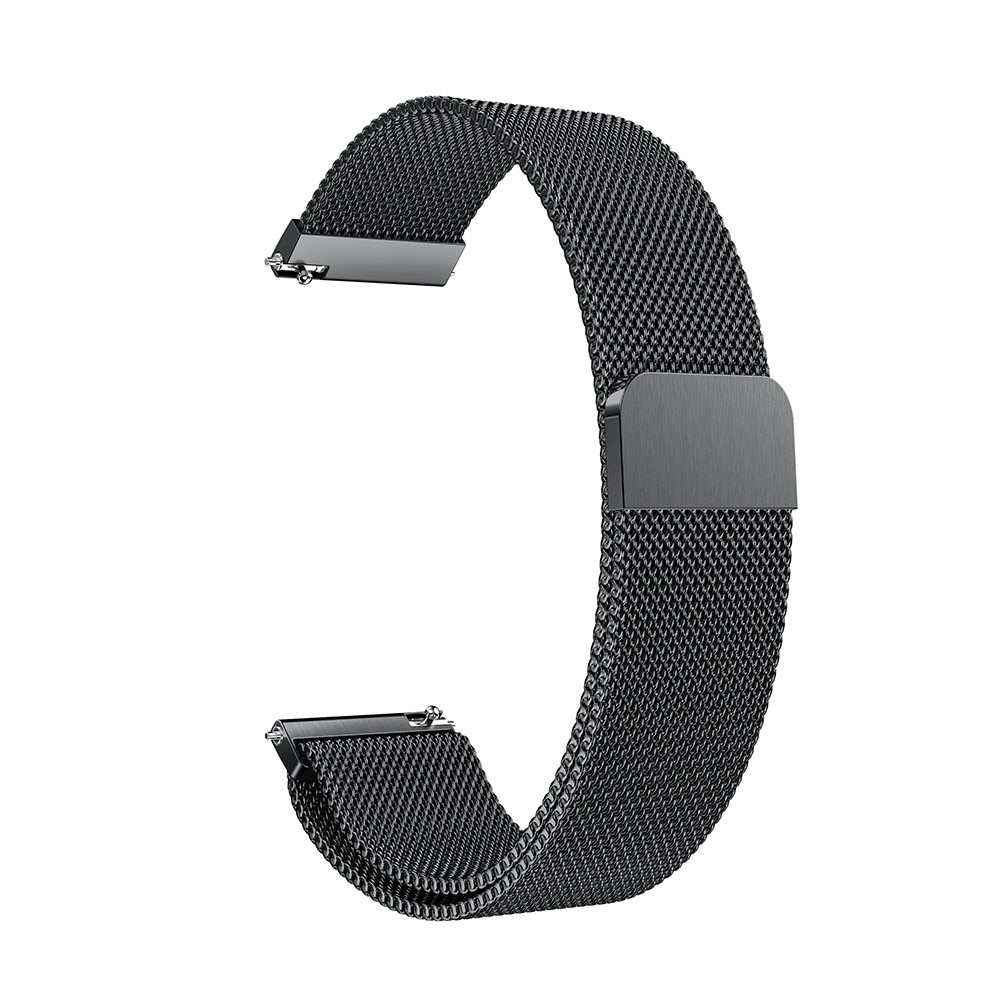 Armband Milanese Huawei Watch 3/3 Pro svart