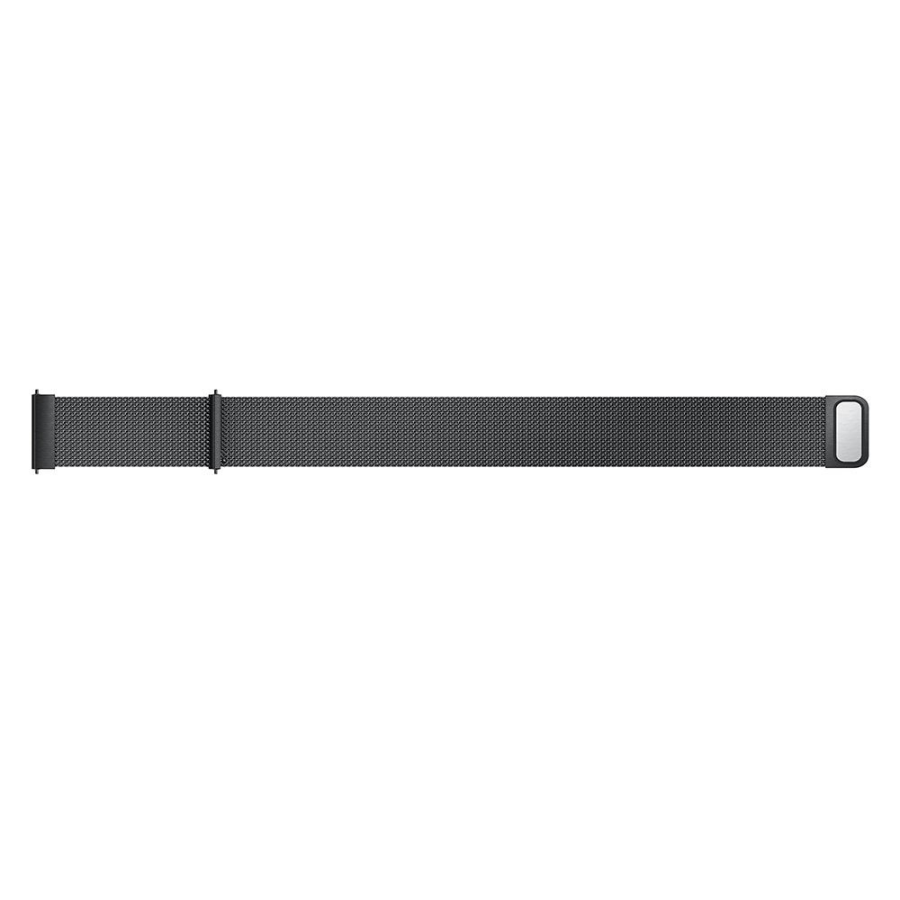 Armband Milanese Garmin Vivoactive 4/Venu 2 svart