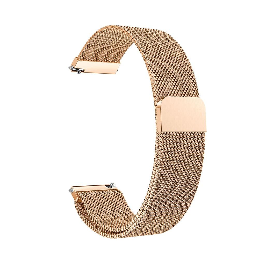 Armband Milanese Garmin Vivoactive 3/Venu roséguld