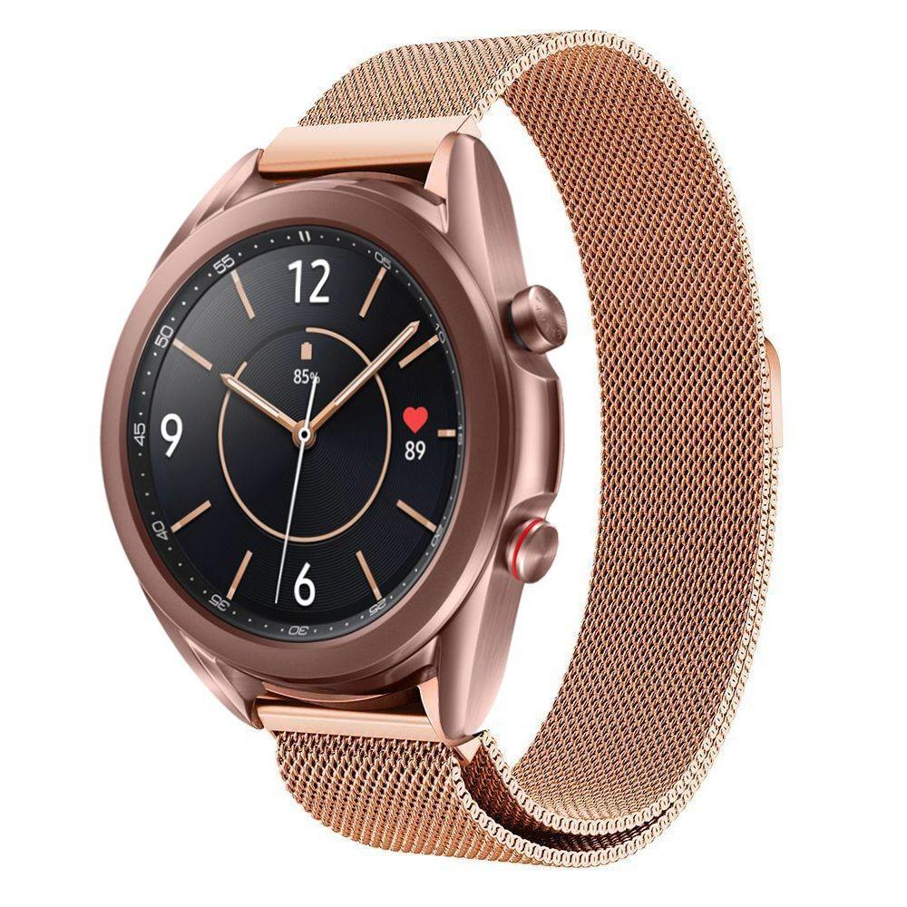 Armband Milanese Samsung Galaxy Watch 4 40mm/Classic 42mm roséguld