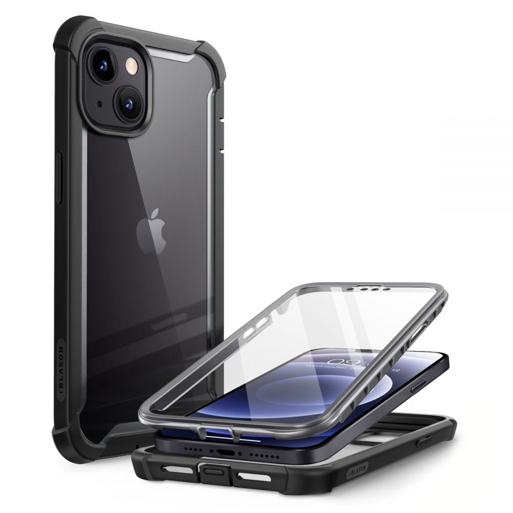 Ares Clear Case iPhone 13 Black