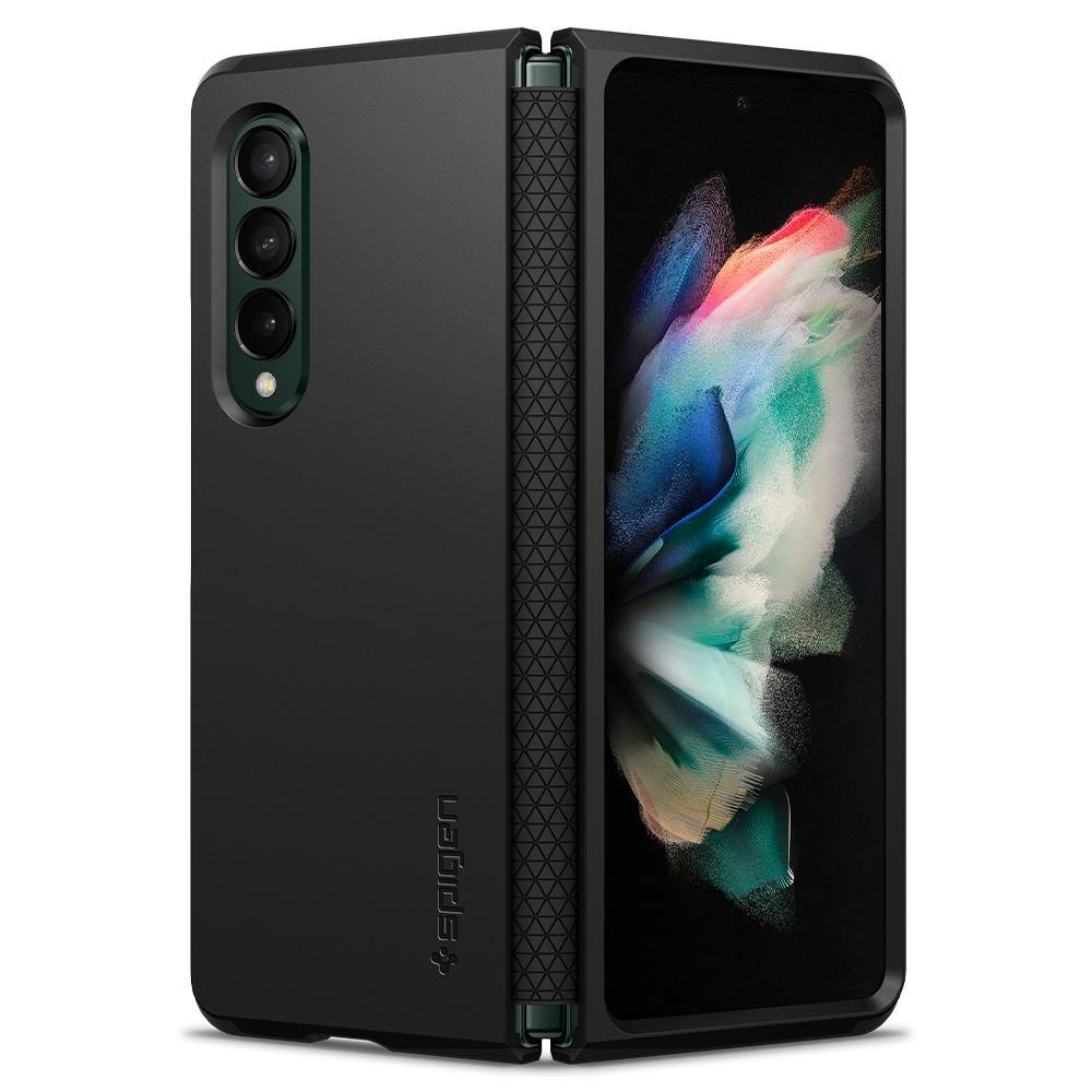 Galaxy Z Fold 3 Case Tough Armor Black