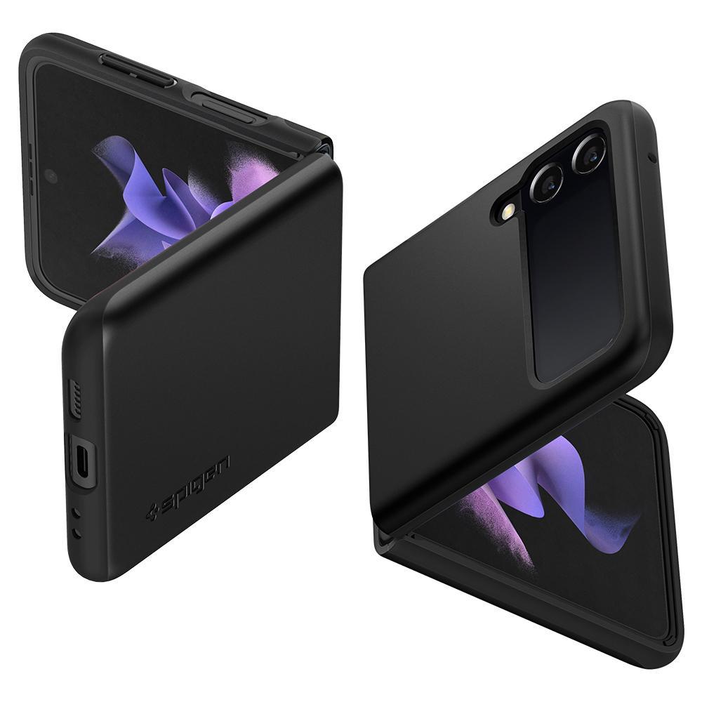 Galaxy Z Flip 3 Case Thin Fit Black