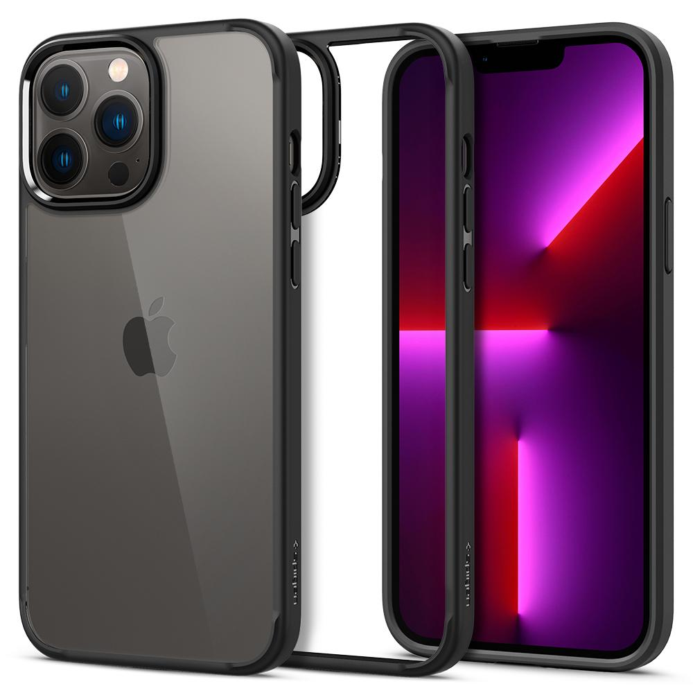 iPhone 13 Pro Max Case Ultra Hybrid Matte Black