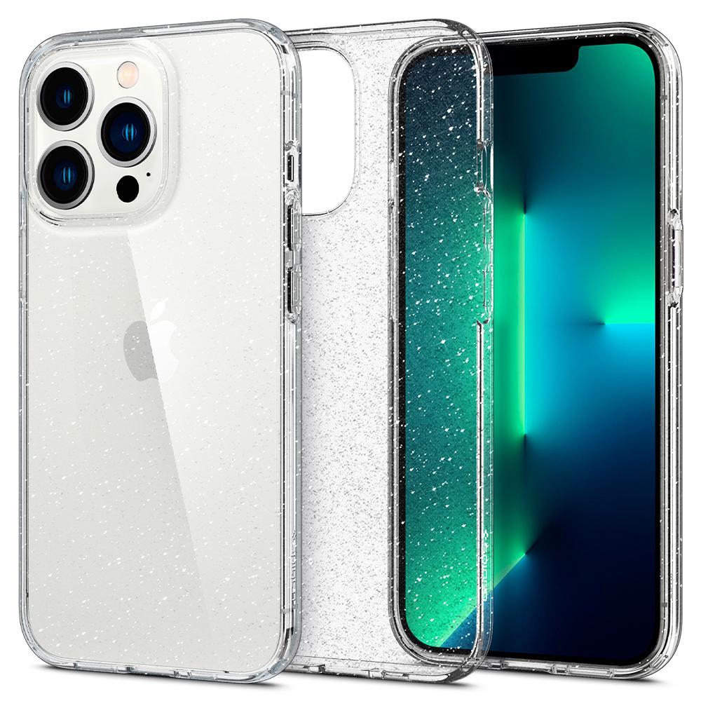 iPhone 13 Pro Case Liquid Crystal Glitter Crystal