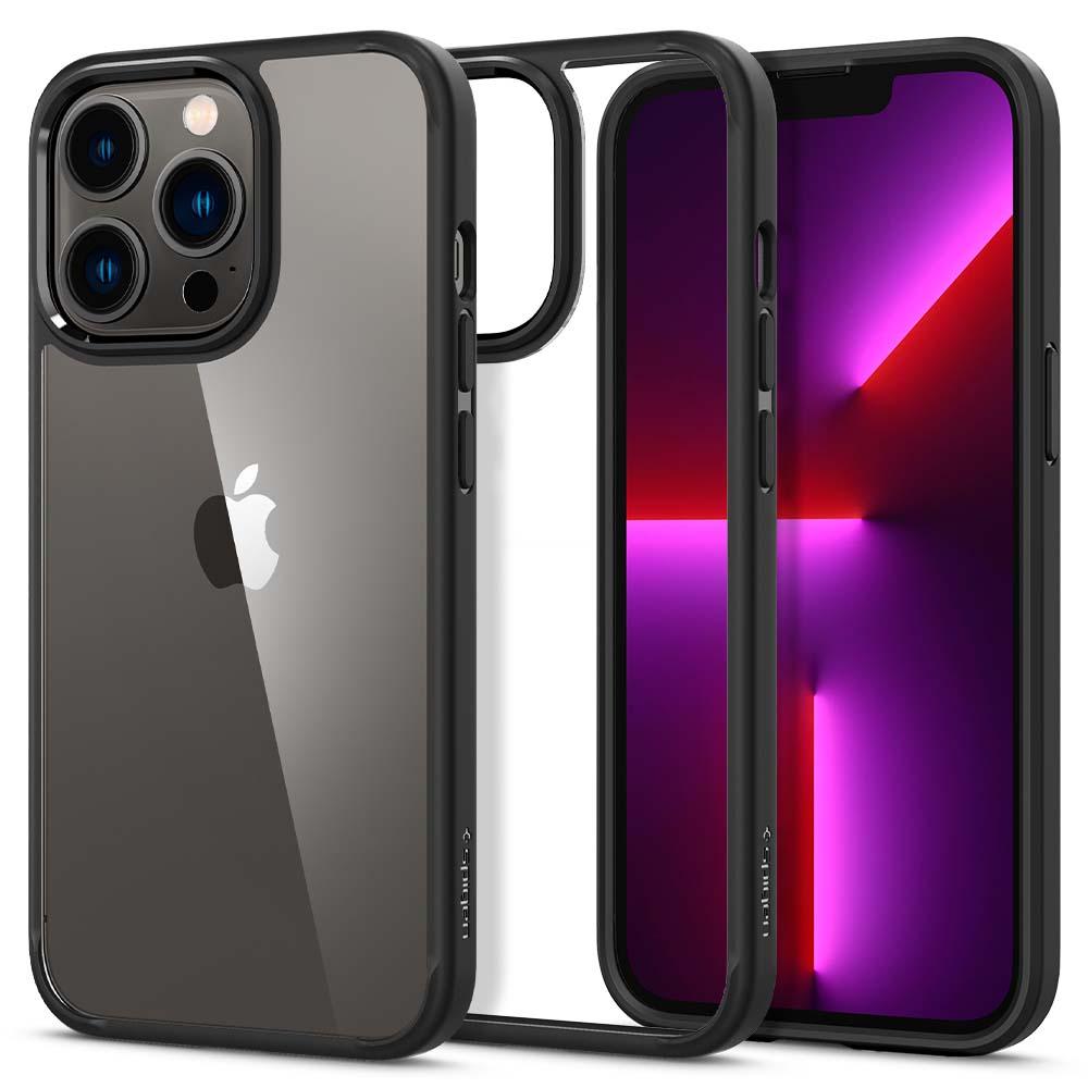 iPhone 13 Pro Case Ultra Hybrid Matte Black