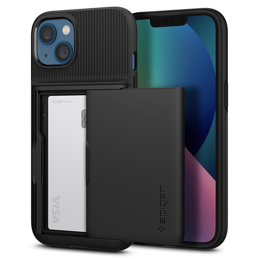 Spigen iPhone 13 Case Slim Armor CS Black