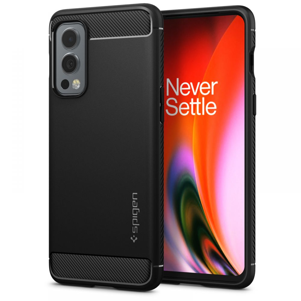 OnePlus Nord 2 5G Case Rugged Armor Black
