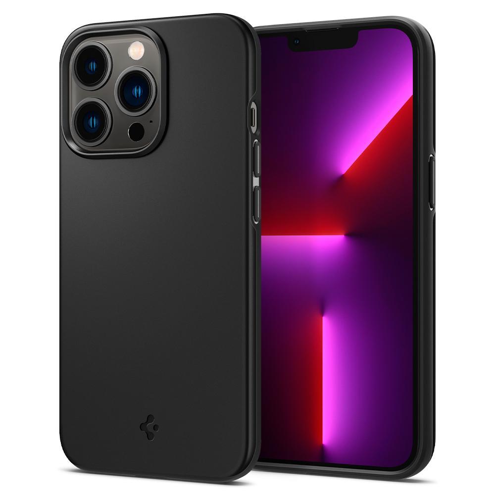 iPhone 13 Pro Case Thin Fit Black