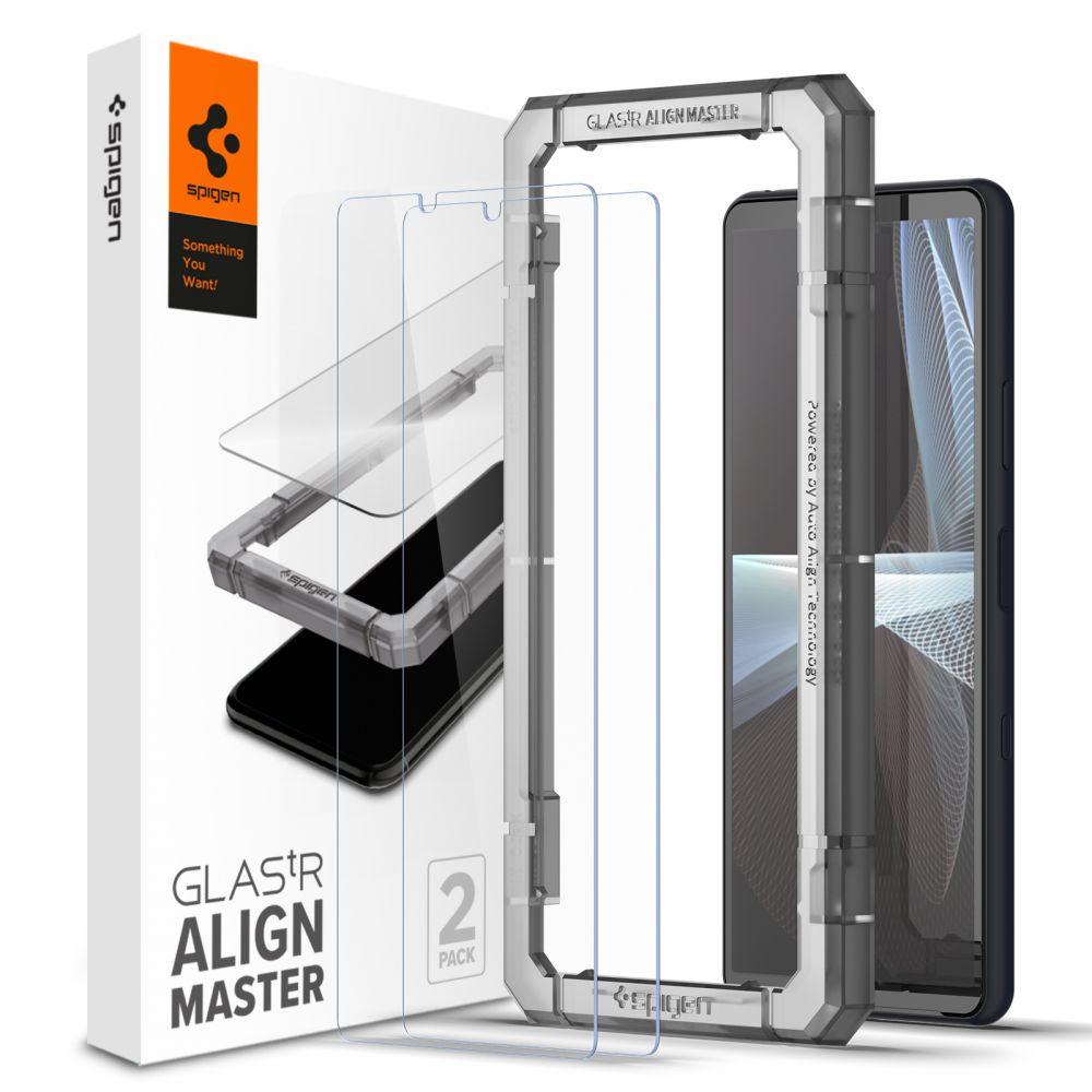 Sony Xperia 10 III AlignMaster GLAS.tR (2-pack)