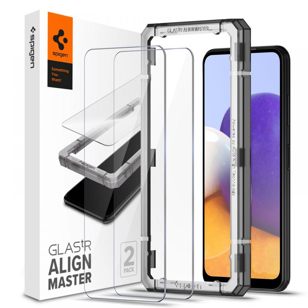 Galaxy A22 5G AlignMaster GLAS.tR (2-pack)