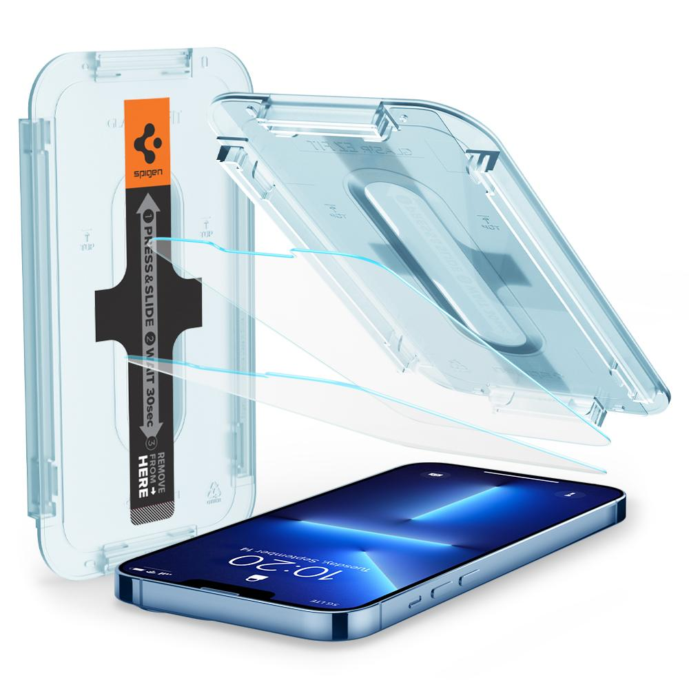 iPhone 13 Pro Max Screen Protector GLAS.tR EZ Fit (2-pack)