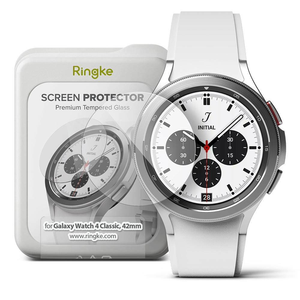 Screen Tempered Glass Galaxy Watch 4 Classic 42mm (4-pack)