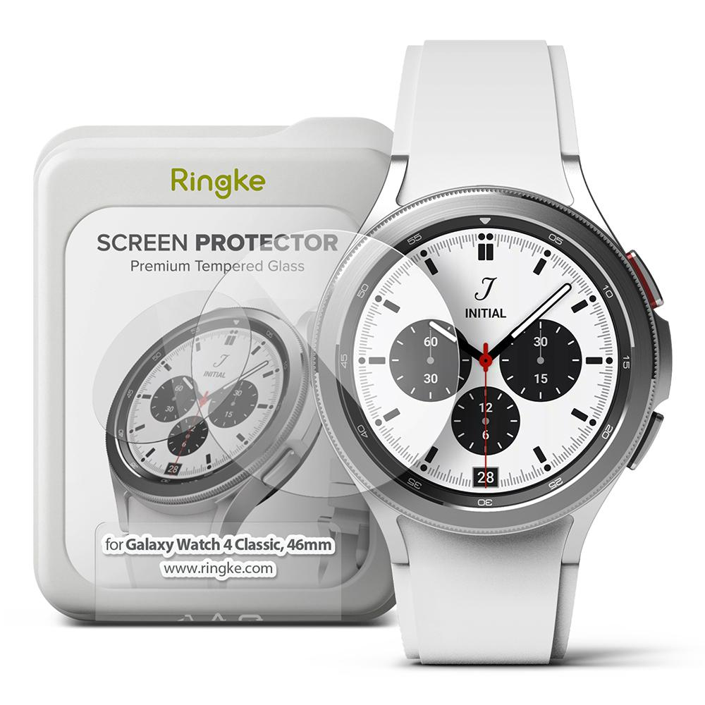 Screen Tempered Glass Galaxy Watch 4 Classic 46mm (4-pack)